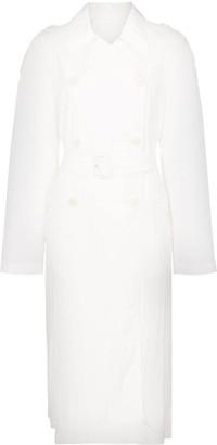 Helmut Lang belted trench coat