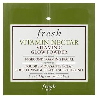 Fresh Vitamin Nectar Vitamin C Glow Powder 30 Second Foaming Facial