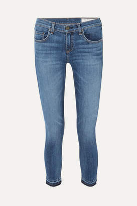Rag & Bone Dre Capri Distressed Mid-rise Skinny Jeans