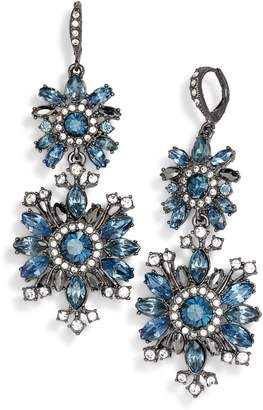 Givenchy Drama Crystal Drop Earrings