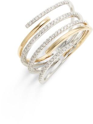 Bony Levy Openwork Diamond Ring