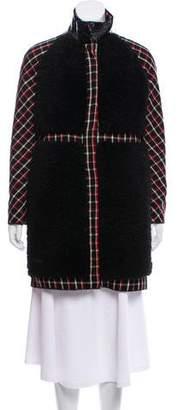 Moncler Gamme Rouge Moncler Amanda Shearling Coat