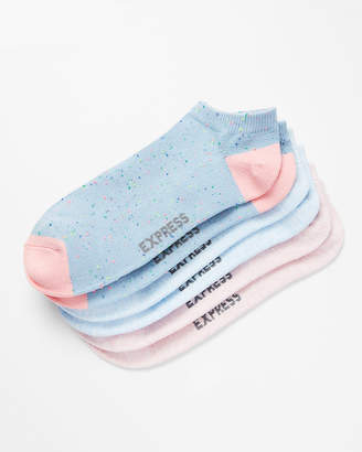 Express 3 Pack Print Pastel Socks