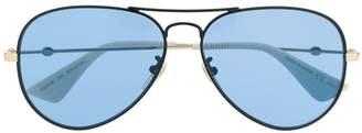 Gucci aviator frame sunglasses