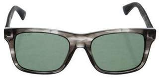 Gucci Tinted Web Sunglasses w/ Tags