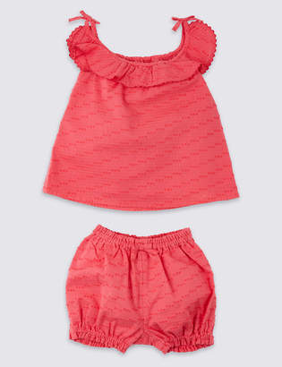 Marks and Spencer 2 Piece Top with Knickers Outfit