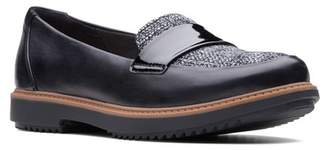 Clarks Raisie Arlie Leather Loafer - Wide Width Available