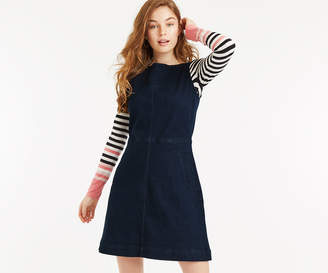 Oasis DENIM SLASH NECK DRESS