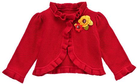 Gymboree Crochet Flower Cardigan