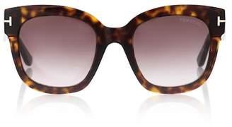 Tom Ford Beatrix square sunglasses