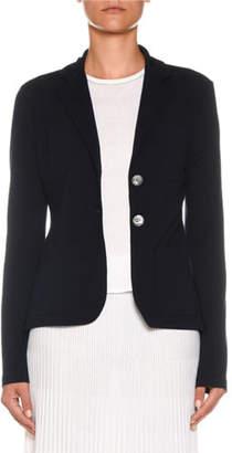 Agnona Two-Button Merino Wool Jacket
