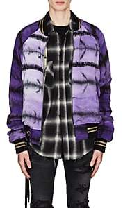 Amiri Men's Reversible Bomber Jacket - Purple