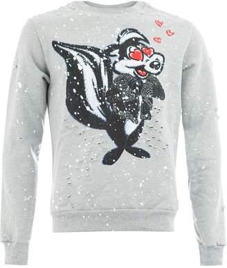 Dom Rebel skunk sweatshirt