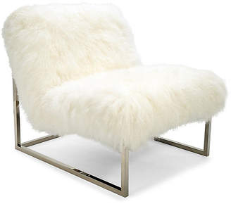 Le-Coterie Le Coterie Milly Chair Accent Chair - White