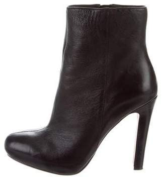 Jean-Michel Cazabat Leather Round-Toe Ankle Boots