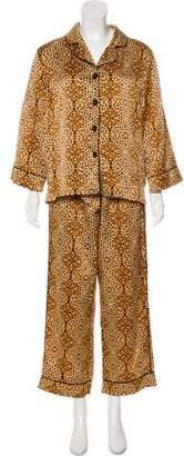 Oscar de la Renta Pajama Set