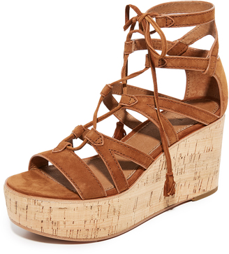 Frye Heather Gladiator Wedges $298 thestylecure.com