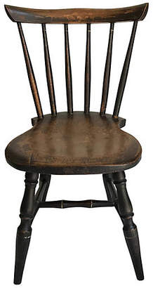 One Kings Lane Vintage English Child's Chair - Heather Cook Antiques