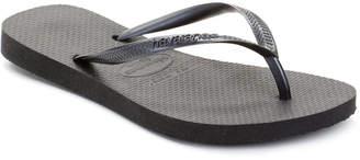 Havaianas Women Slim Metallic Flip Flops Women Shoes