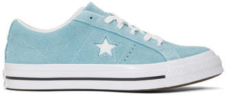 Converse Blue Suede One Star Sneakers