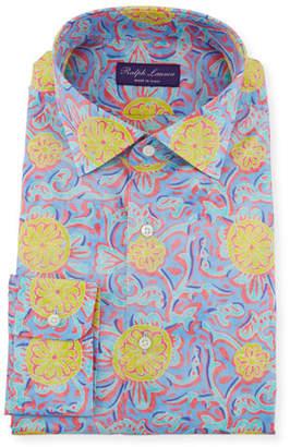 Ralph Lauren Men's Choppa Print Aston Dress Shirt