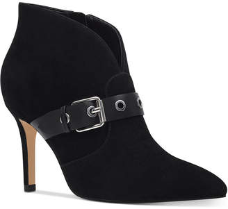 Nine West Jax Pointed-Toe Booties Women Shoes