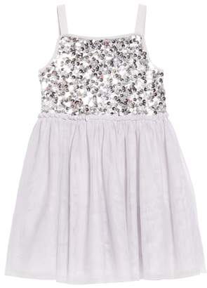 Boden Mini Sparkly Tulle Ballerina Dress