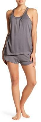 Joe Fresh Lace Panel Pajama Shorts