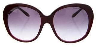 Tiffany & Co. Oversize Gradient Sunglasses