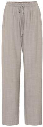 The Row JR stretch wool pants