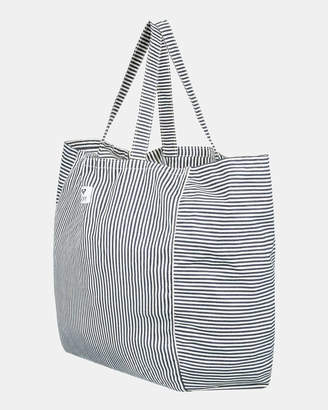 Roxy Time Is Now Oversized Striped Tote Bag