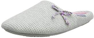 Isotoner Women's Ladies Waffle Mule Open Back Slippers,39 EU