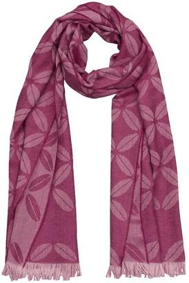 Victoria Ragna Lupine Wool Scarf