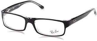 Ray-Ban Unisex Adults' 5114 Optical Frames, Black (Negro)