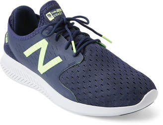 New Balance Navy & Green FuelCore Coast V3 Running Sneakers