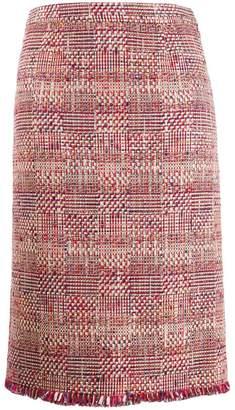 Etro embroidered midi skirt