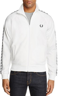 Fred Perry Laurel Wreath Trim Track Jacket $130 thestylecure.com