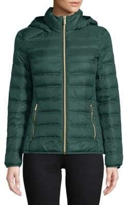 "MICHAEL Michael Kors THE COAT EDIT 25"" Short Packable Hunter Jacket"