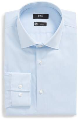 BOSS Ismo Slim Fit Stripe Dress Shirt