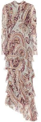 Etro Paisley silk-blend gown