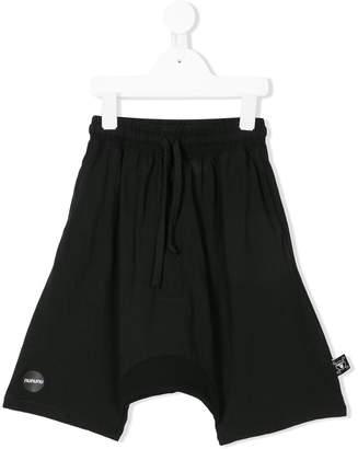 Nununu drop-crotch shorts