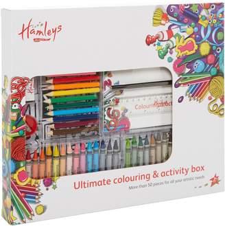 House of Fraser Hamleys Colouring activity box