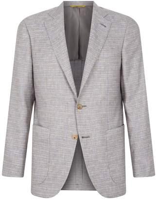 Canali Kei Check Jacket
