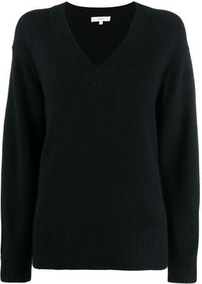 Vince oversized long-sleeve sweater