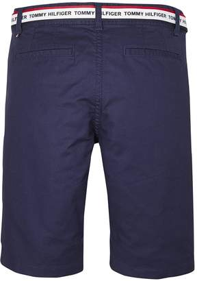 743d916283 Tommy Hilfiger Boys Classic Belted Chino Shorts - Navy