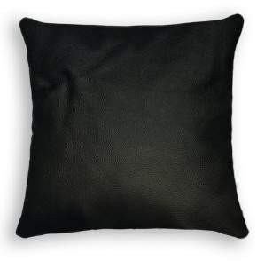 Sienna Square Pebbled Leather Pillow