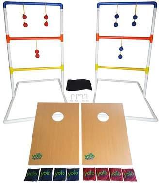 DAY Birger et Mikkelsen Yolo Sports Ultimate Toss Duo 10 Piece Cornhole and Ladder Ball Set