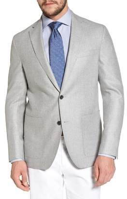 David Donahue Arnold Classic Fit Wool & Silk Blazer