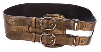 Burberry Metallic Waist Belt