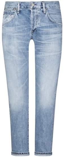Emerson Slim Fit Boyfriend 7/8-Jeans | D...